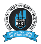 2019-2020 Bold City Best winner logo