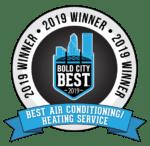 2019 Bold City Best winner logo