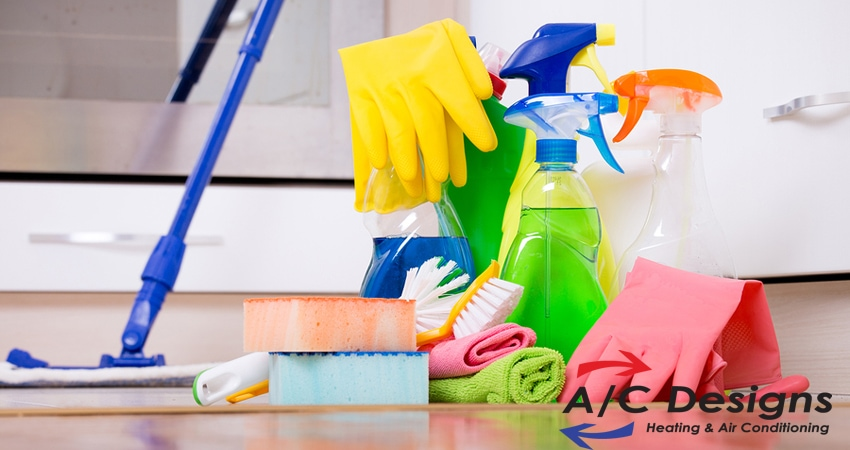 3 Cleaning Habits That Impact Your Indoor Air Quality | A/C Designs