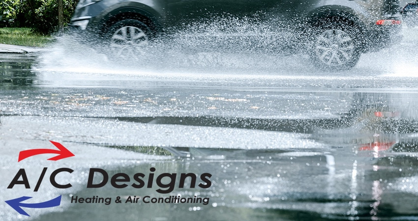 Does Rain Impact My A/C Unit? | A/C Designs