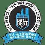 2019-2021 Bold City Best winner logo