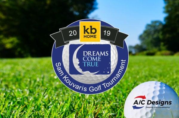 A/C Designs Supports Annual Sam Kouvaris Dreams Come True Golf Tournament