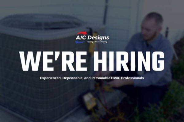 We're Hiring at A/C Designs