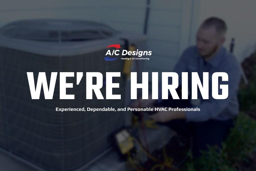 We're Hiring at A/C Designs