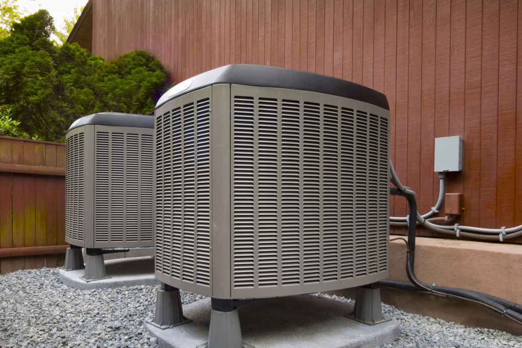 Ac outdoor residential until HVAC