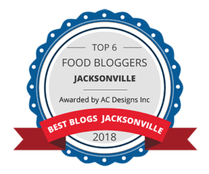Top 6 Food Bloggers from Jacksonville – Awarded By AC Designs Inc.